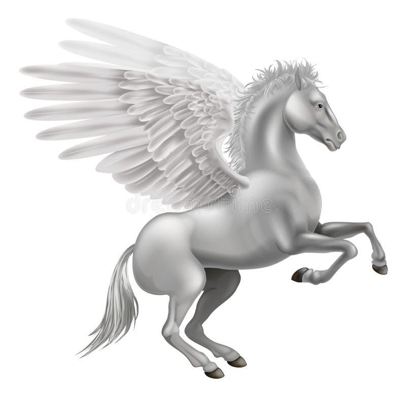 Het paard van Pegasus vector illustratie