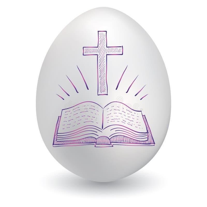 Het paasei van het kruis en van de bijbel