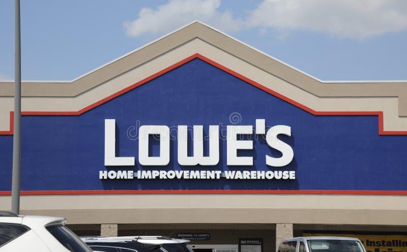 Het Pakhuis van de Verbetering van het Huis van Lowe stock fotografie