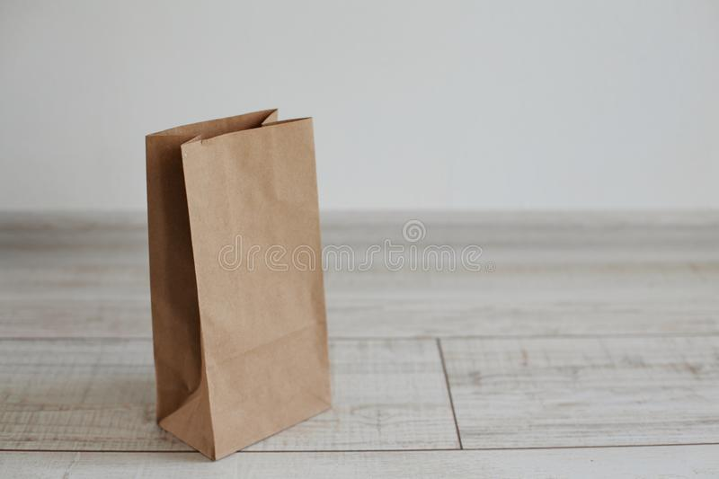 Het Pakket van de Ecologicambacht stock afbeelding
