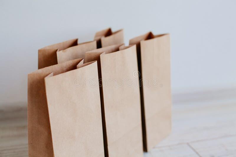 Het Pakket van de Ecologicambacht royalty-vrije stock afbeeldingen