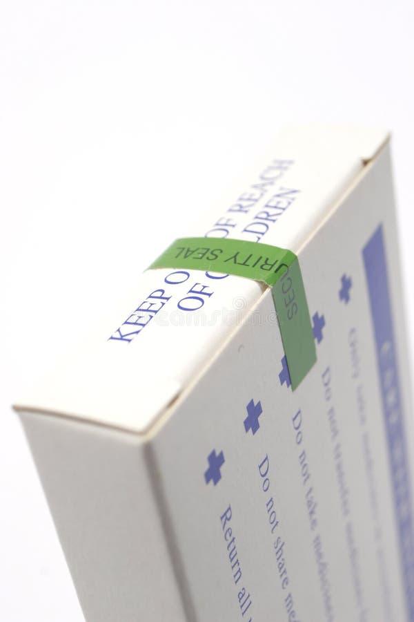 Het pakket van de geneeskunde stock afbeelding