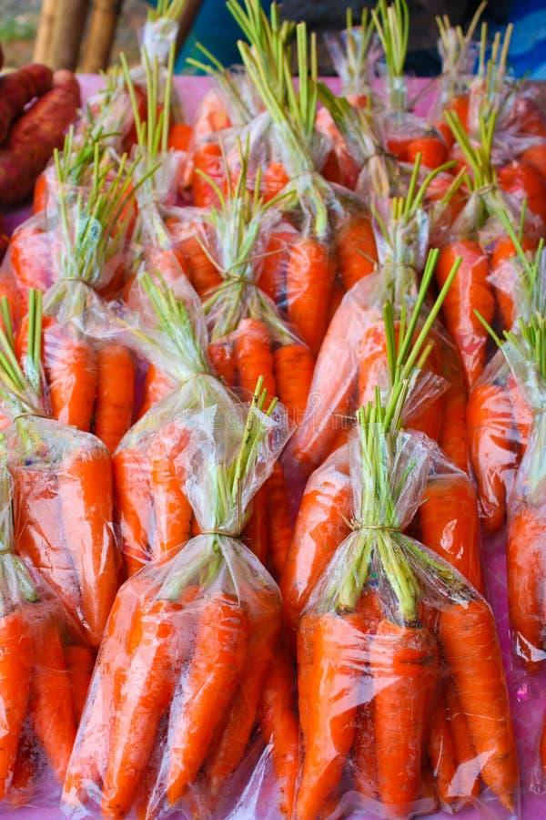 Het pakket van de wortel royalty-vrije stock foto's