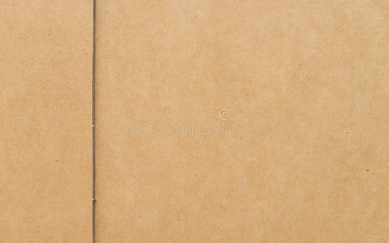 Het pakpapier van de kartontextuur stock foto's