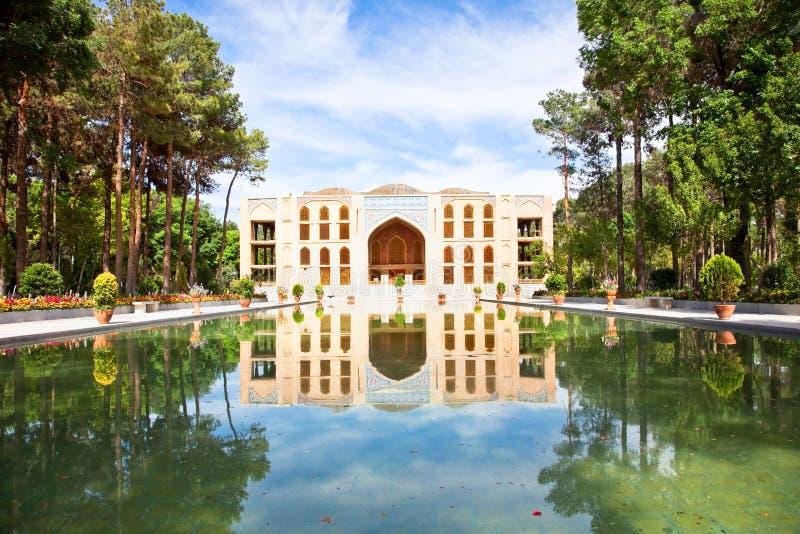 Het Paleis Esfahan, Iran van Sotoun van Chehel stock afbeelding