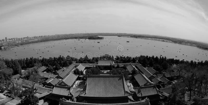 Het Paleis Peking van de zomer stock afbeelding