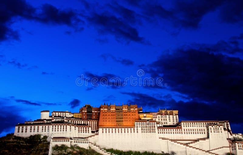 Het paleis Potala royalty-vrije stock foto's