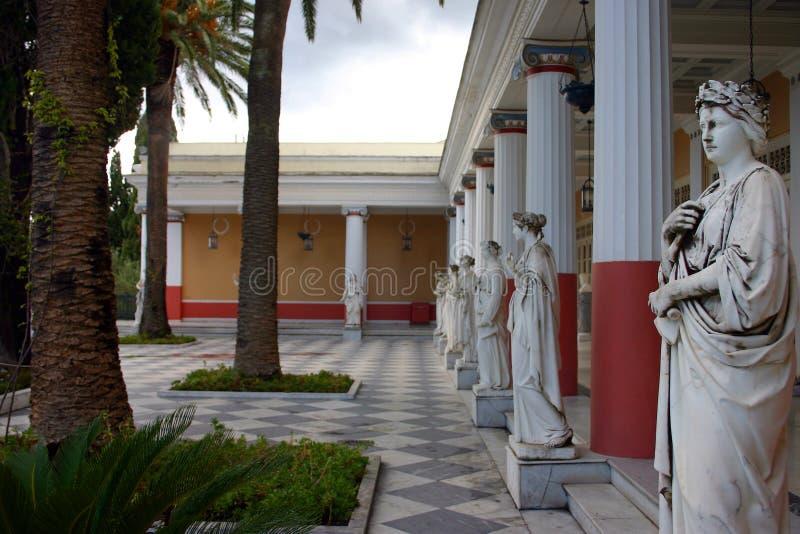 Het Paleis van Achilleon royalty-vrije stock afbeeldingen