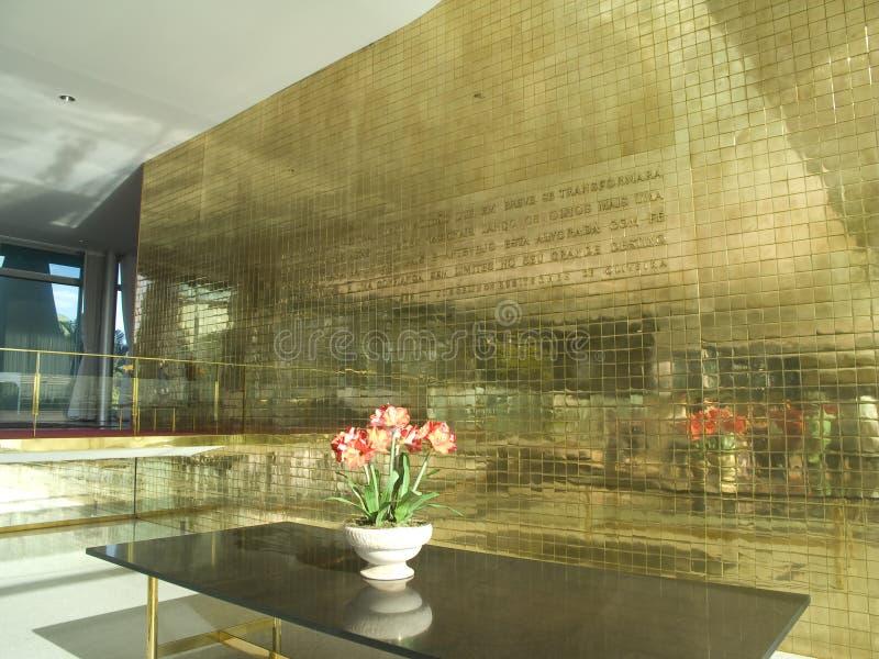 Het Paleis van Alvorada stock afbeeldingen