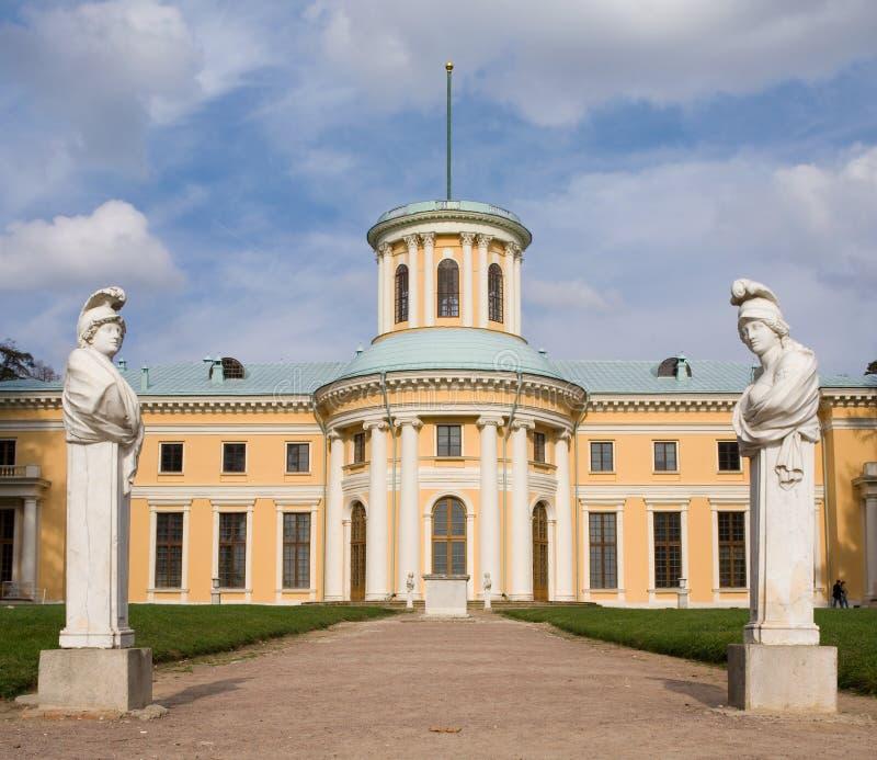 Het paleis van Arhangelskoe royalty-vrije stock afbeeldingen