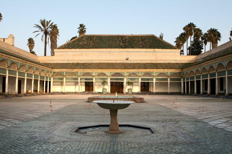 Het paleis van Bahia, Marrakech stock foto