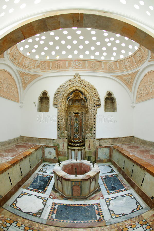Het Paleis van Beiteddine, Turks Bad royalty-vrije stock foto
