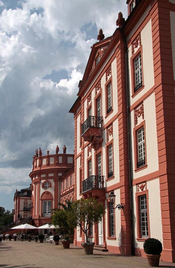 Het Paleis van Biebrich royalty-vrije stock foto