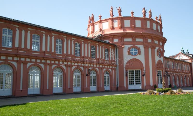 Het Paleis van Biebrich stock afbeeldingen