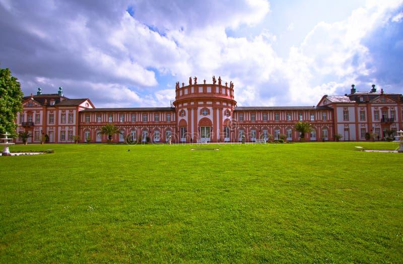 Het Paleis van Biebrich in Wiesbaden royalty-vrije stock fotografie