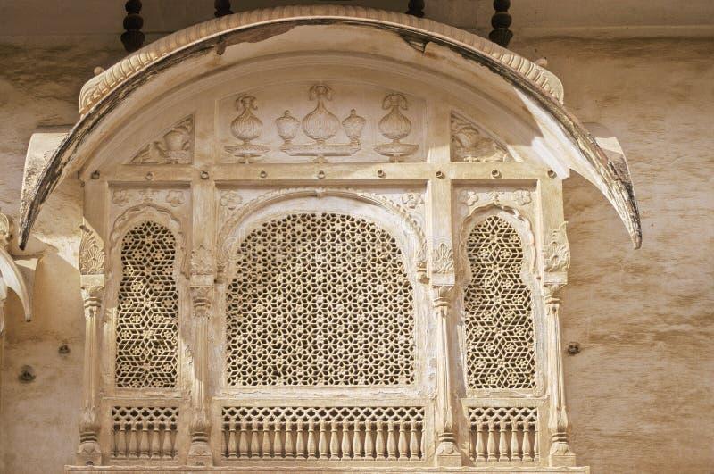Het paleis van Bikaner   royalty-vrije stock afbeeldingen