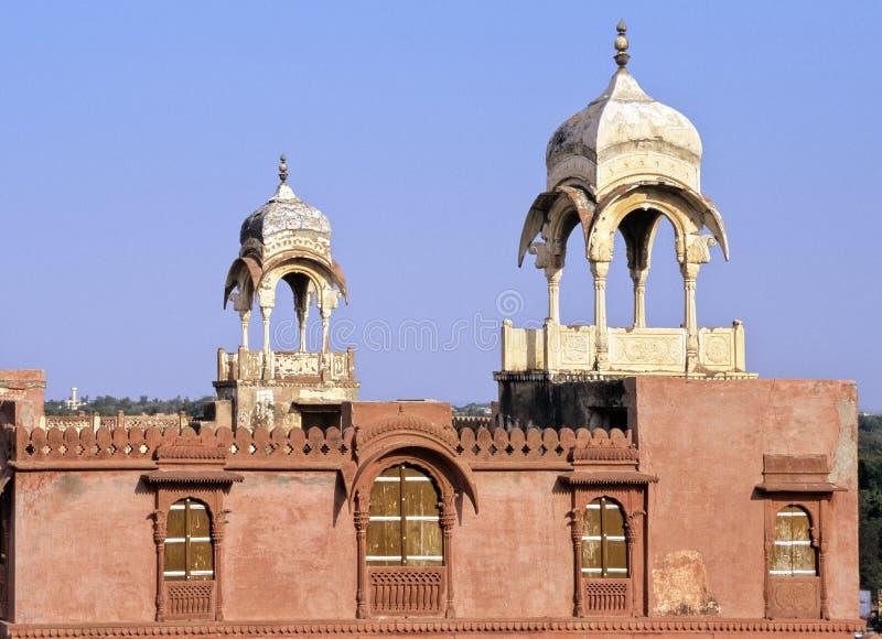 Het paleis van Bikaner royalty-vrije stock foto's