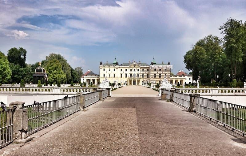 Het Paleis van Branicki royalty-vrije stock foto's