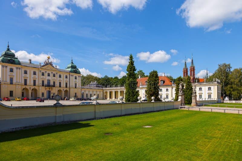 Het Paleis van Branicki nu de Medische Universiteit royalty-vrije stock afbeeldingen