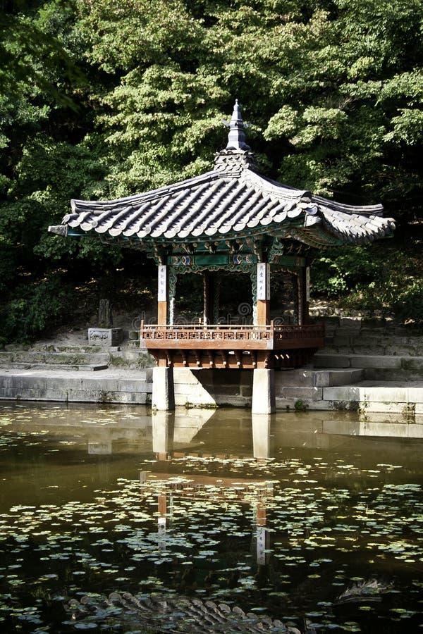 Het Paleis van Changdeok - Zuid-Korea royalty-vrije stock fotografie