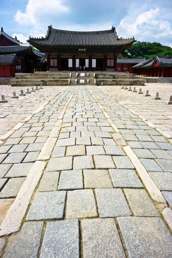 Het Paleis van Changgyeonggung royalty-vrije stock fotografie