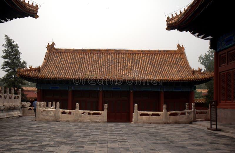 Het Paleis van de arbeider, Peking, China stock foto's