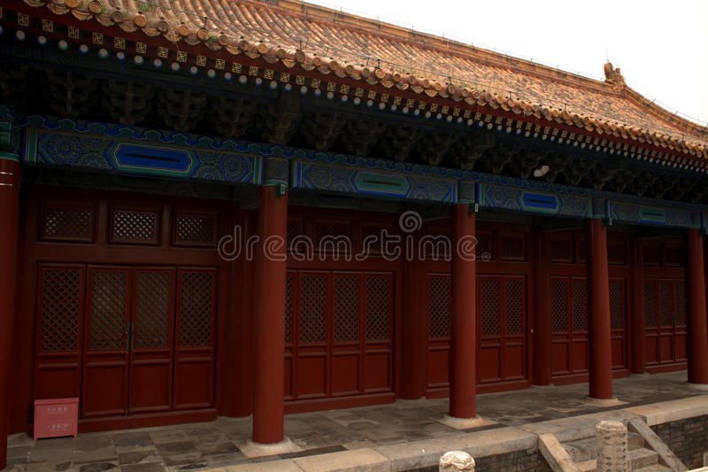 Het Paleis van de arbeider, Peking, China stock foto