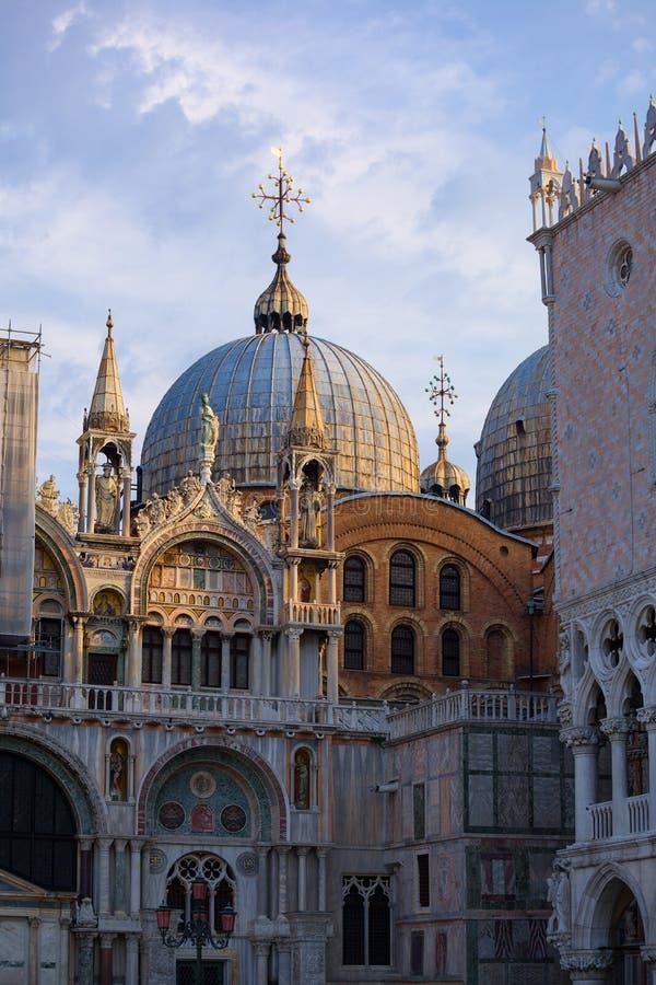 Het Paleis van de doge Venetië Italië royalty-vrije stock fotografie