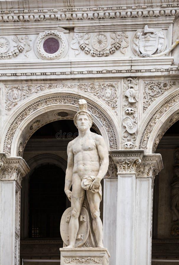 Het Paleis van de doge, Venetië, Italië stock afbeeldingen