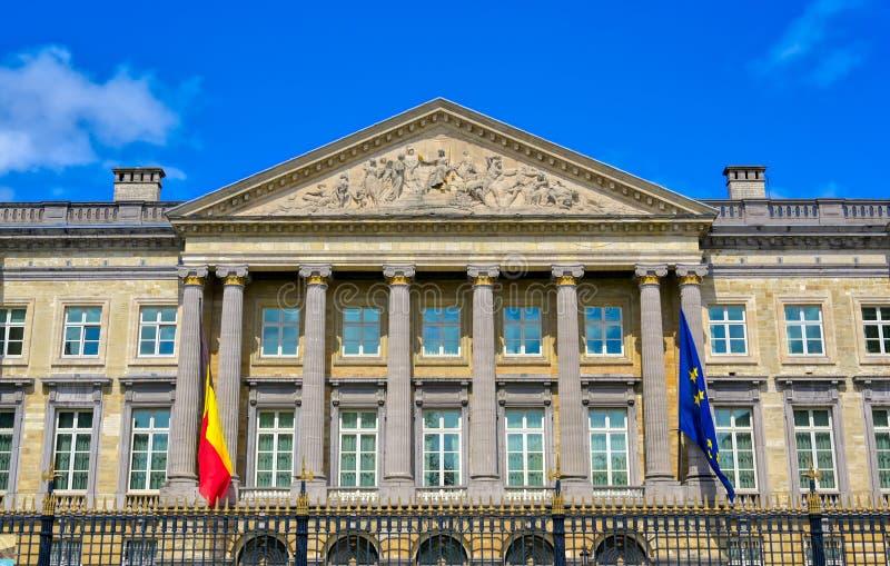 Het Paleis van de Natie in Brussel, België royalty-vrije stock foto's