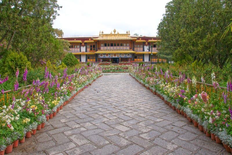 Het Paleis van de Norbulingkazomer royalty-vrije stock foto's