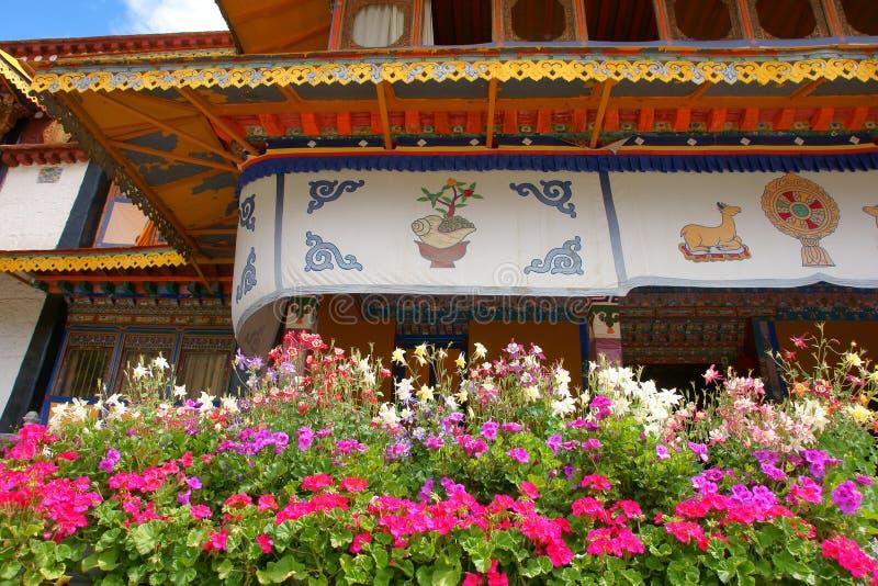 Het Paleis van de Norbulingkazomer royalty-vrije stock foto