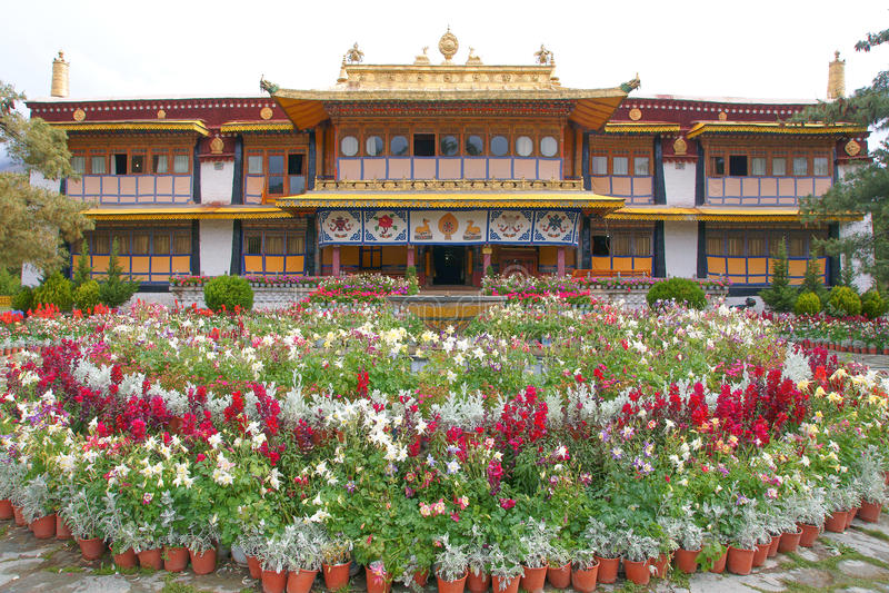 Het Paleis van de Norbulingkazomer stock foto