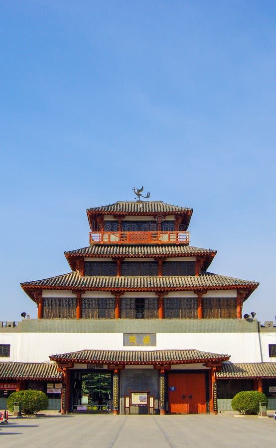 Het paleis van de qindynastie stock afbeeldingen