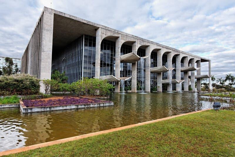Het Paleis van de rechtvaardigheid in Brasilia royalty-vrije stock foto