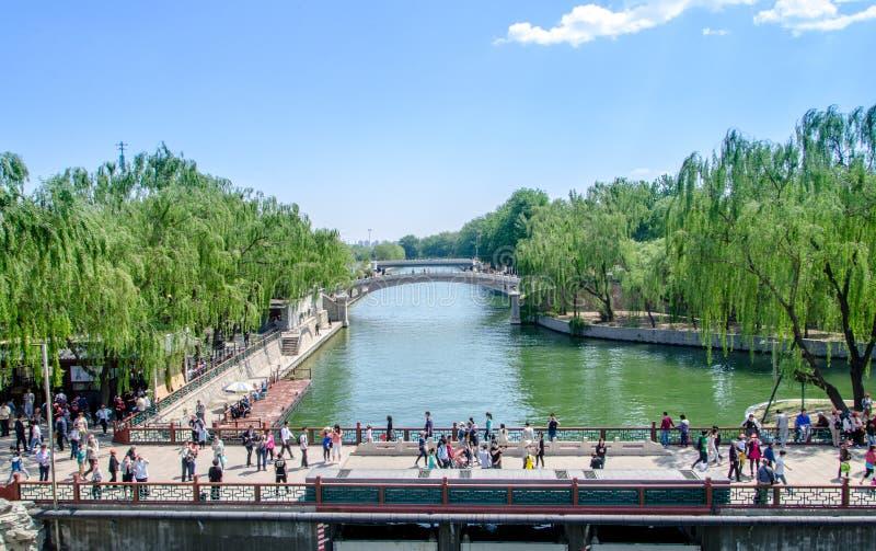 Het Paleis van de zomer in Peking royalty-vrije stock foto