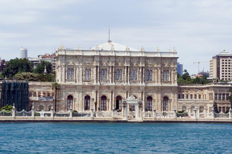Het paleis van Dolmabahce stock foto