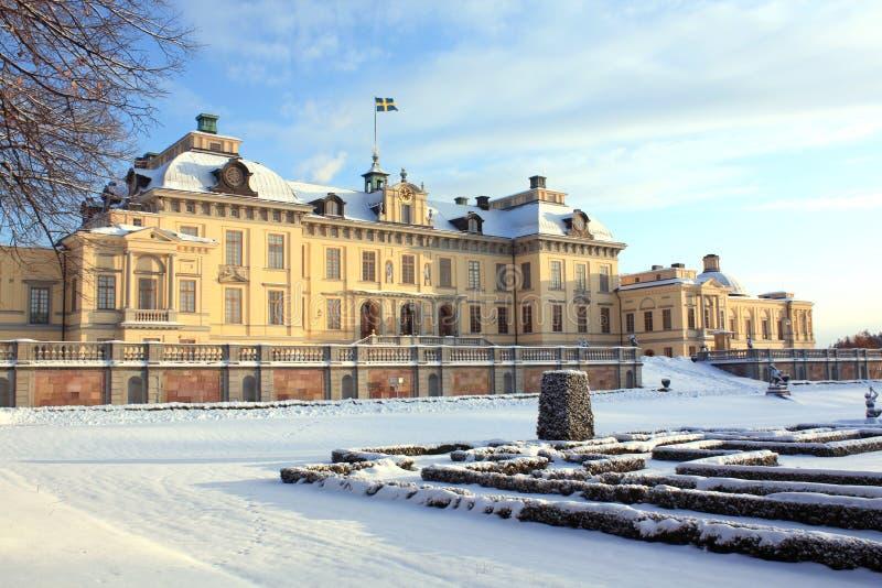 Het paleis van Drottningholm, Zweden royalty-vrije stock foto's