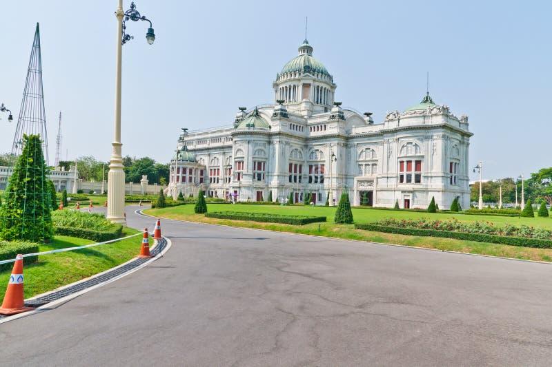 Het Paleis van Dusit in Thailand stock fotografie