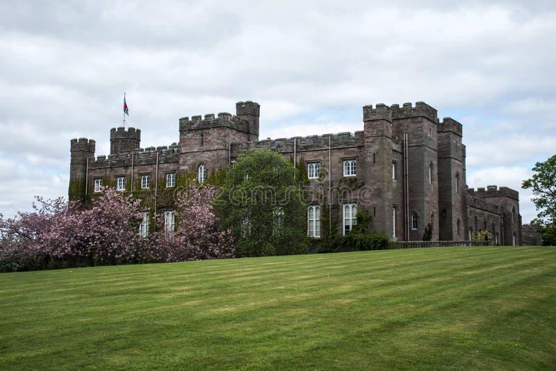 Het Paleis van Forest Scotland Great Britain Scone van het landschapspark royalty-vrije stock afbeelding