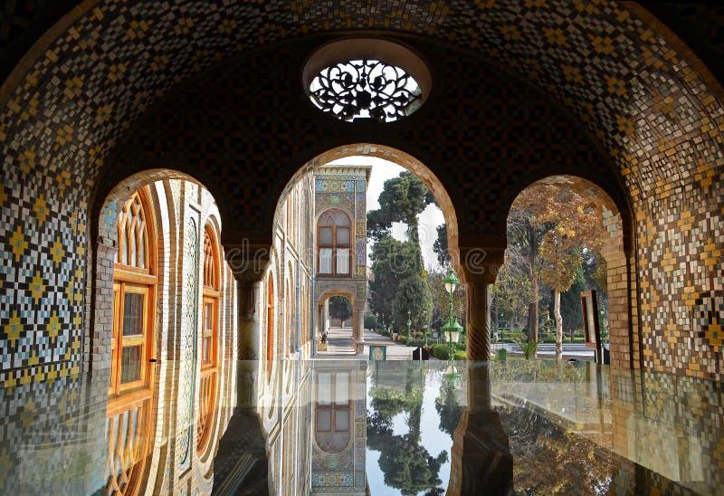 Het Paleis van Golestan stock afbeeldingen