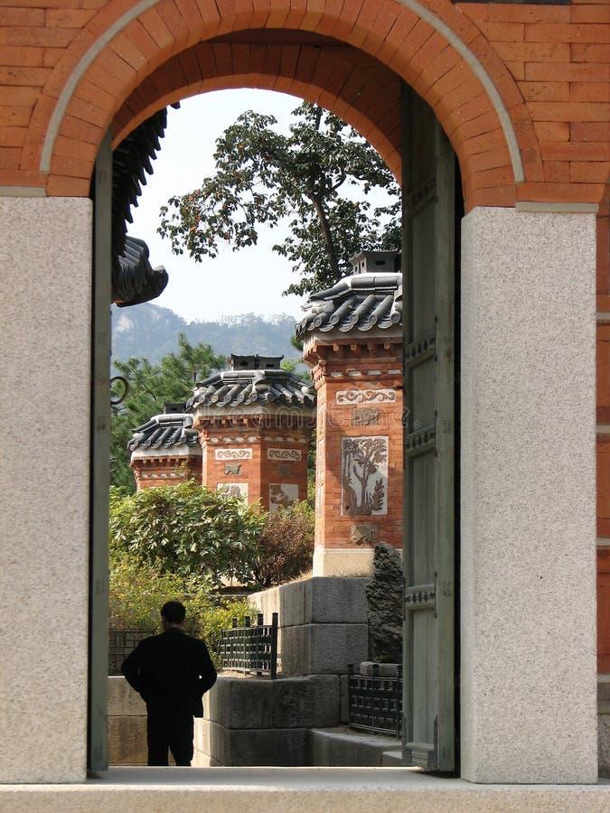 Het Paleis van Gyeongbok stock afbeelding