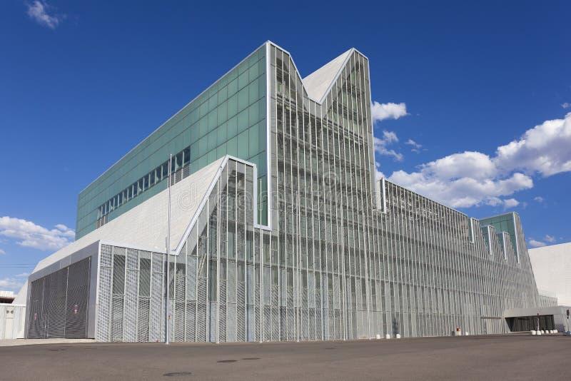 Het paleis van het congres royalty-vrije stock fotografie