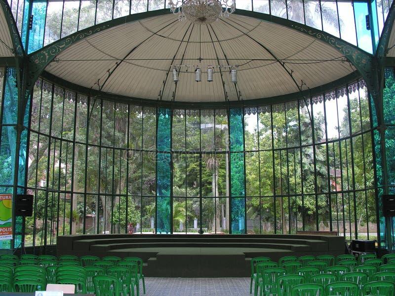 Het Paleis van het kristal - Petropolis - Rio de Janeiro royalty-vrije stock afbeelding