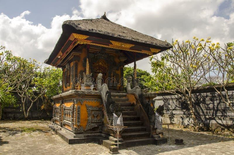 Het Paleis van het Mayurawater, Lombok stock fotografie