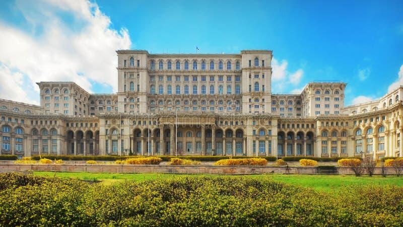 Het Paleis van het Parlement stock foto