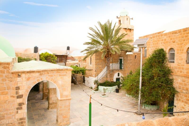 Het Paleis van Hisham in Jericho. Israël royalty-vrije stock afbeelding
