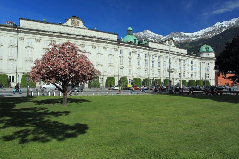 Het Paleis van Hofburg stock afbeelding