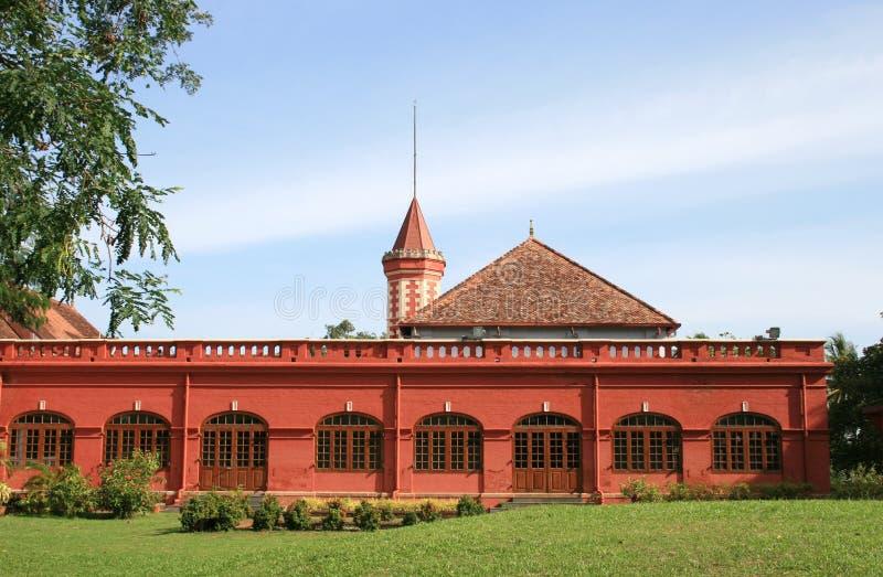 Het Paleis van Kanakakunnu stock foto's