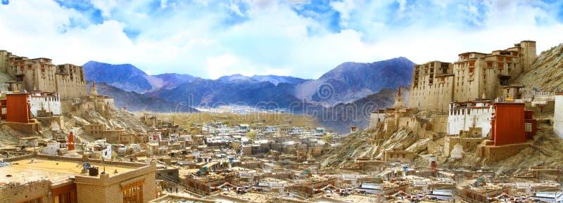 Het paleis van Leh royalty-vrije stock afbeeldingen